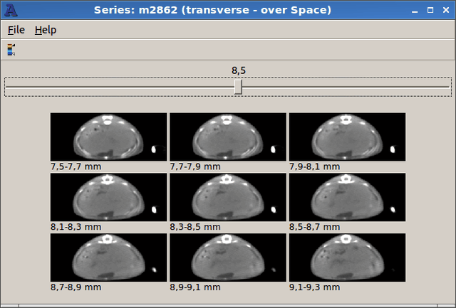 Series m2862 transverse - over Space 015