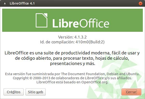 LibreOffice 4.1 001
