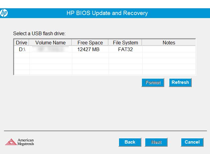 Cómo actualizar el BIOS en una laptop HP con solo Ubuntu instalado