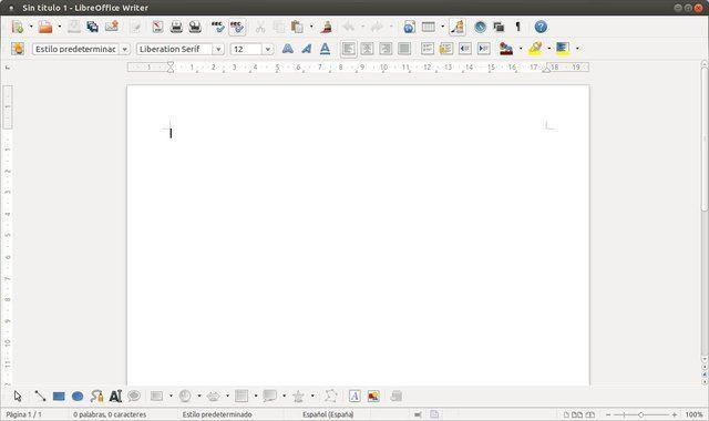 LibreOffice Writer 001